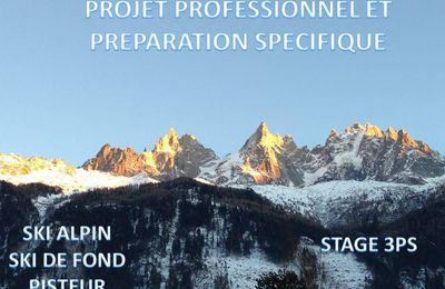 Projet Professionnel et Préparation Spécifique STAGE 3PS