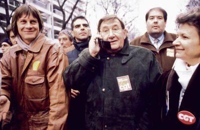 Décès de Louis Viannet, dirigeant de la CGT jusqu'en 1995