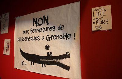 Bibliothèques en lutte: Bravo aux collègues de Grenoble