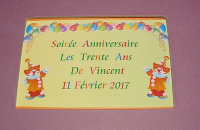 DECORATION ANNIVERSAIRE THEME CLOWN