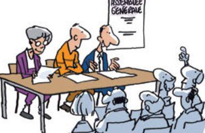 Assemblée Générale élective le mardi 6 décembre 2016