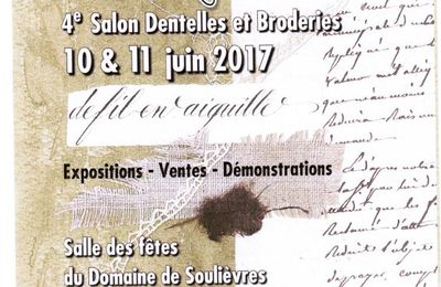 4eme SALON DENTELLES ET BRODERIES A AIRVAULT