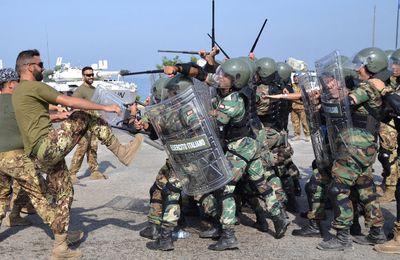 Libano:militari italiani di UNIFIL addestrano esercito libanese a tecniche controllo folla