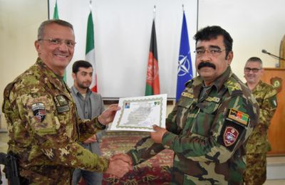 Afghanistan:militari italiani formano specialisti in comunicazione per combattere il terrorismo