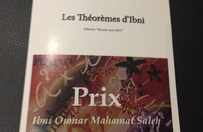 Les Théorèmes d'Ibni - Manuel de Mathématique paru aux Éditions Cultura.