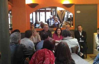 Lancement campagne électoral de Mina IDIR à Carpentras devant près de 150 personnes