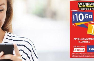 Opérateur mobile : Auchan Telecom sort une offre 10 Go pour 10 euros
