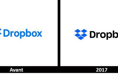 Branding : très léger changement de logo pour DROPBOX