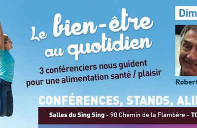 L' agenda des salons du bien - être de Midi Pyrénées