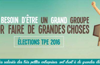 Elections TPE du 30 décembre au 13 janvier c'est à vous de voter !