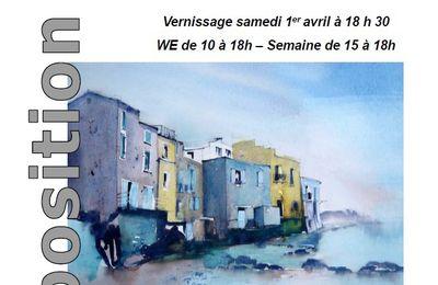 Exposition de peinture à l'Etoile de Voiron du 01 au 06 avril 2017