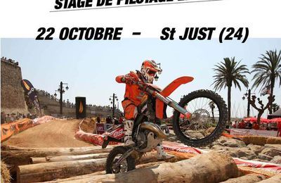 STAGE ENDURO 22 OCTOBRE Dordogne