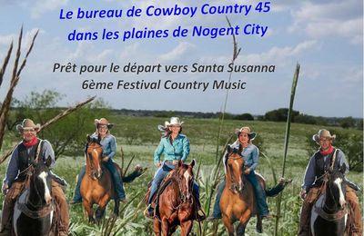 Photos pour un depart au 6ème Festival Country Music de Santa Susanna du 22 au 28 octobre 2017