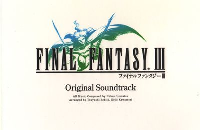 Final Fantasy III - The Original Soundtrack [DS Remastered][Album]