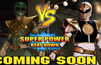 Super Power Beat Down: Mighty Morphin Green Ranger vs Mighty Morphin White Ranger