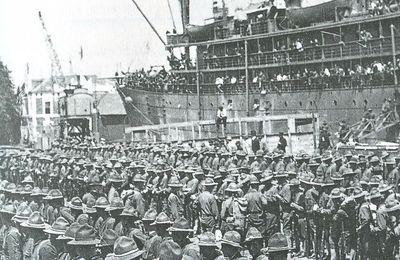 1917 - 2017 : Remerciements d'un Halluinois aux soldats américains !