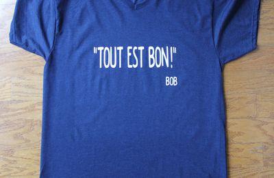 6 T-Shirts et des maniques...