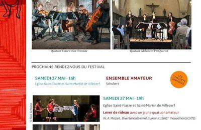 Concert ProQuartet à Villecerf