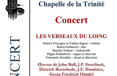 Concert au château de Fontainebleau