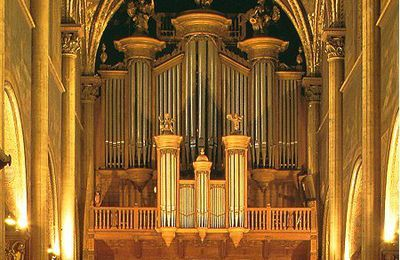 Concert d'orgue à Saint-Germain des Prés