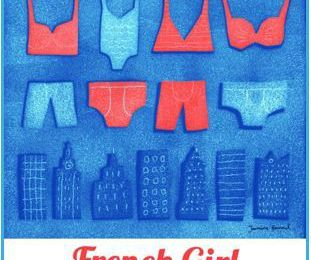 French girl - Julie DERUSSY