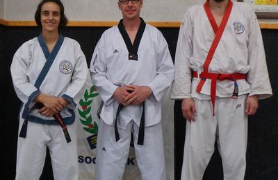Stage de Soo Bahk Do au Taekwondo club de Vichy