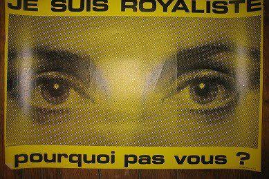 Bref historique d'un slogan royaliste depuis les années 1960