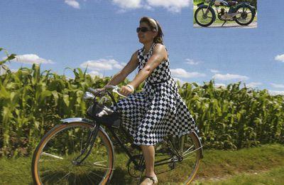 Balade vélos rétro au Grand Lucé