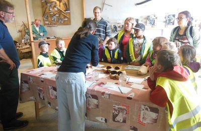 """Le Foyer Rural de Jupilles accueille des groupes """"adultes"""" mais également des """"scolaires"""" : ici """"l'Interco Normandie Sud Eure"""" en juillet"""