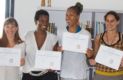 Lucie, Esther Hawa, Marina : Bienvenue