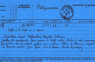 11 novembre 1918 ...