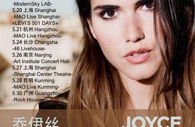 Joyce Jonathan 2017 ASIA Tour CHINA