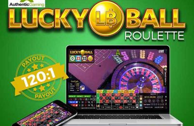 Authentic Gaming lance le jeu de roulette en ligne live Lucky Ball Roulette