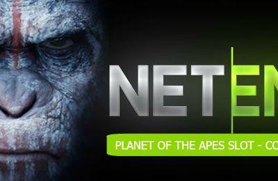 Le développeur NetEnt annonce la sortie de son jeu très attendu basé sur le film La planète des Singes pour le 23 octobre 2017