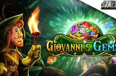 Betsoft lance la machine à sous Giovanni's Gems