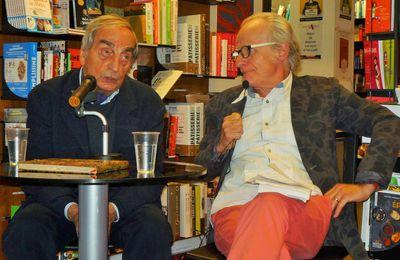 Avec Charles Juliet à la librairie