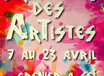 """PRINTEMPS DES ARTISTES"" A AVALLON"