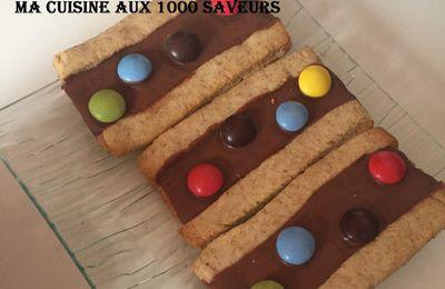 biscuit aux M&MS
