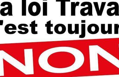 LOI TRAVAIL XXL : POUR LA CGT C'EST TOUJOURS NON
