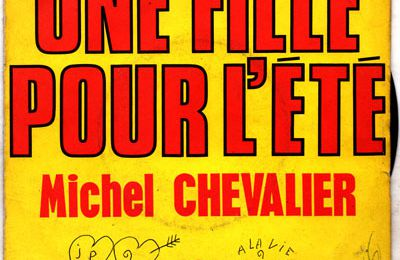 "Grand concours Michel Chevalier / Hit Magazine  - ""La fille de l'éte"" - 1975"