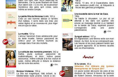 Vacances, j'oublie tout, mais je lis en français ! Sélection de fictions pour les 10e et 11e