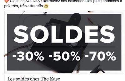 Les soldes sont là ! •• Sales in France!