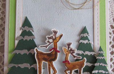 Des cartes hivernales que je ne vous ai pas encore montrées !
