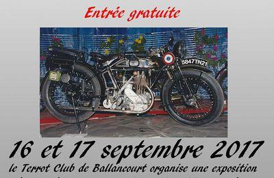 Terrot expo septembre 2017