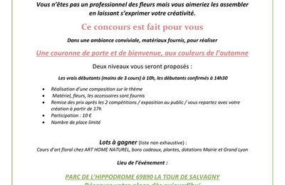 CONCOURS ART FLORAL OUVERT À TOUS!