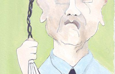 Autoportrait en hommage à Bernard Buffet