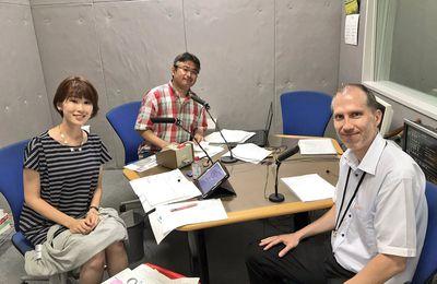 2017年7月15日 RSKラジオ出演