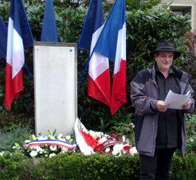 Discours pour la Commémoration de la Libération de Paris