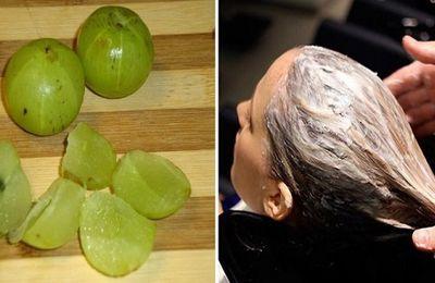 Un masque d'Amla pour rajeunir les cheveux et lutter contre ses chutes!