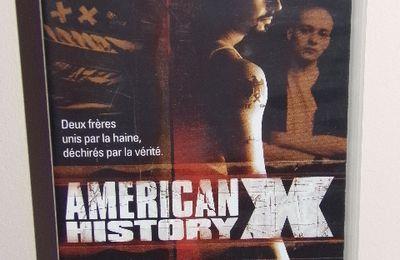 Cassette vidéo - VHS - Américan History X - avec Edward Norton et Edward Furlong